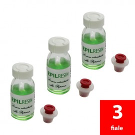 3 Hemmstoffe Lotionen Epilresin Papain auf 10 ml