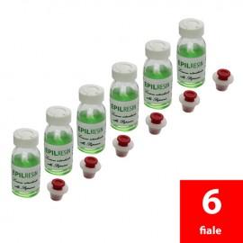 6 lociones retardantes Epilreisin a la papaína de 10 ml