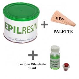 1 barattolo + 1 lozione ritardante Epilresin