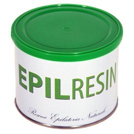 Depilatory resin