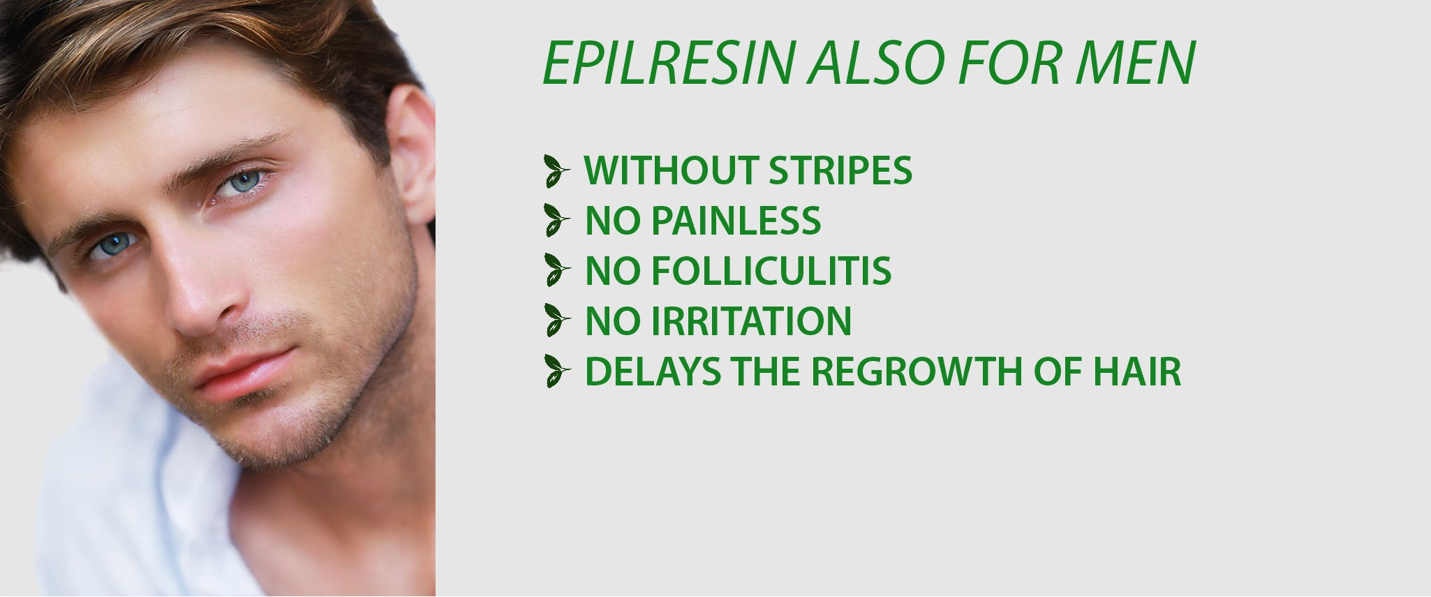 Epilresin also for men